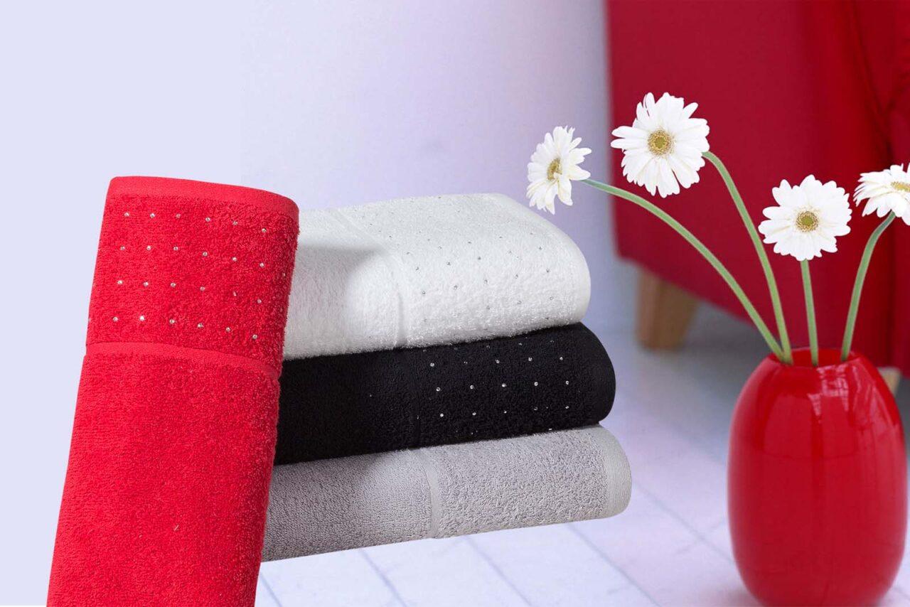 RHINESTONES TOWELS