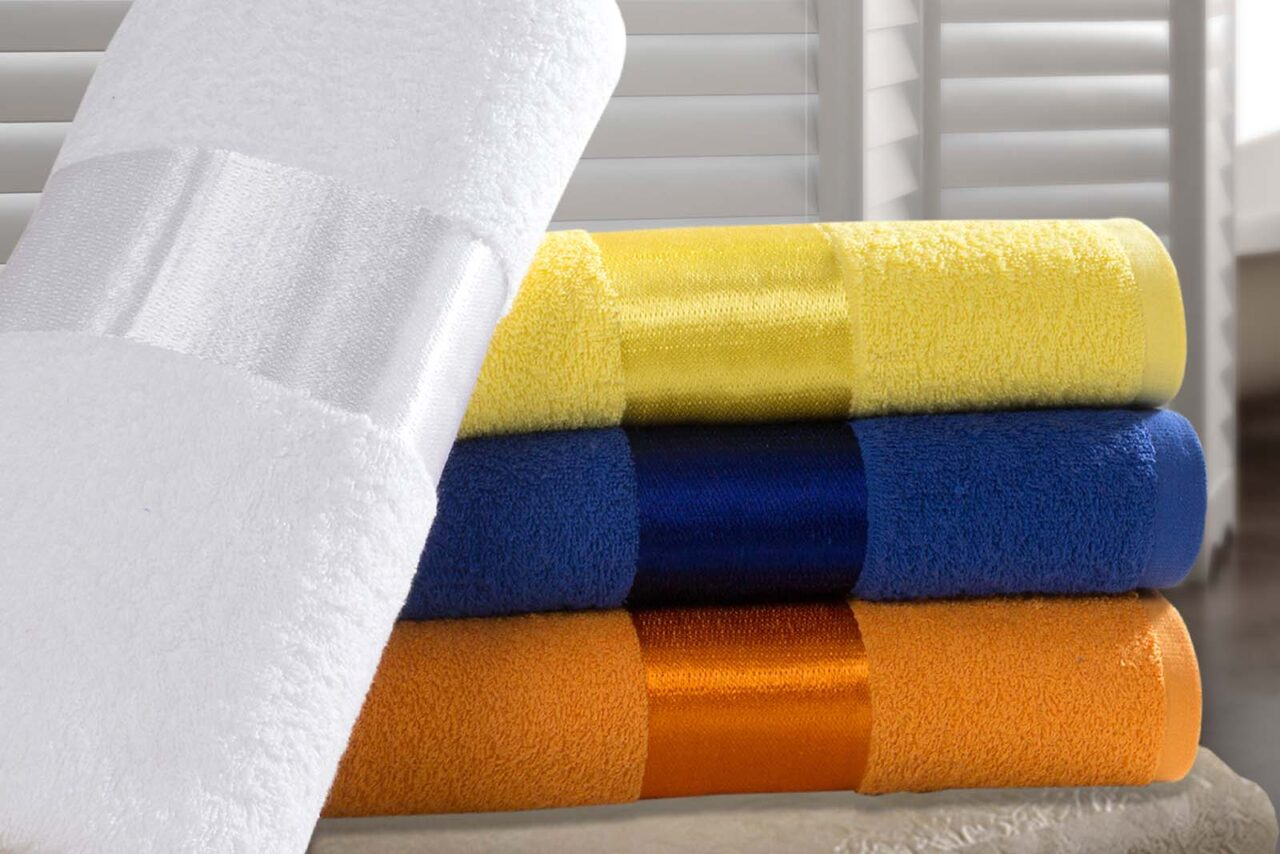 VISCOSE / POLYESTER FANCY TOWELS